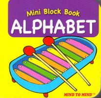 Mini Block books Alphabet 9789673311835