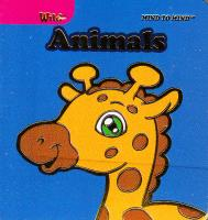 Foam Eva Mini Chunky Books Wild Animals