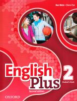 English Plus: Level 2: Student's Book 9780194200615