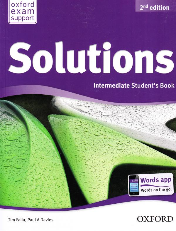 Solutions 2nd Edition Intermediate: Workbook and Audio CD Pack 2nd Edition Ukraine