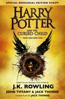 Роулинг Джоан (J.K. Rowling) Harry Potter and the Cursed Child 978-1-338-09913-3