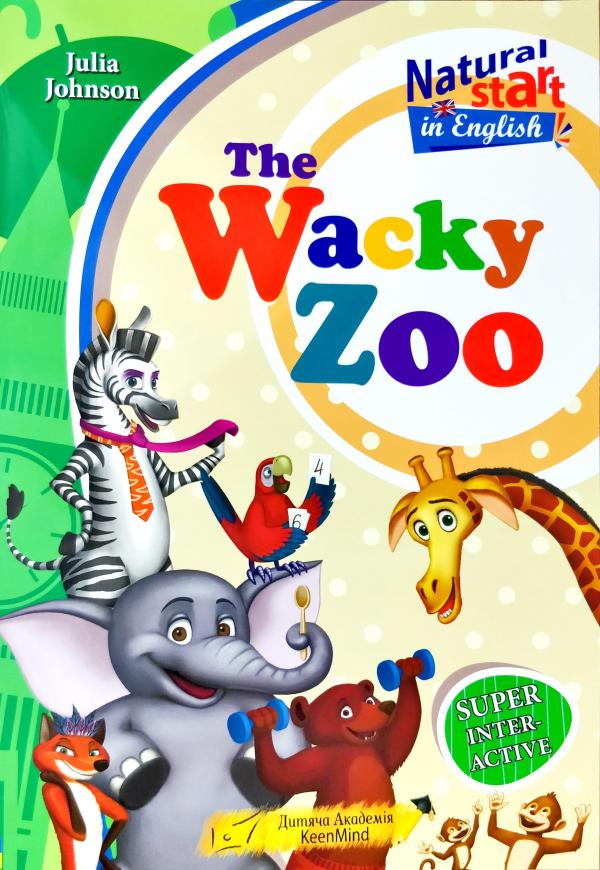 Johnson Julia The Wacky Zoo