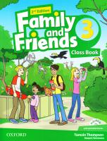 Family and Friends 2nd Edition 3 Class Book with Multi-ROM 9780194808316