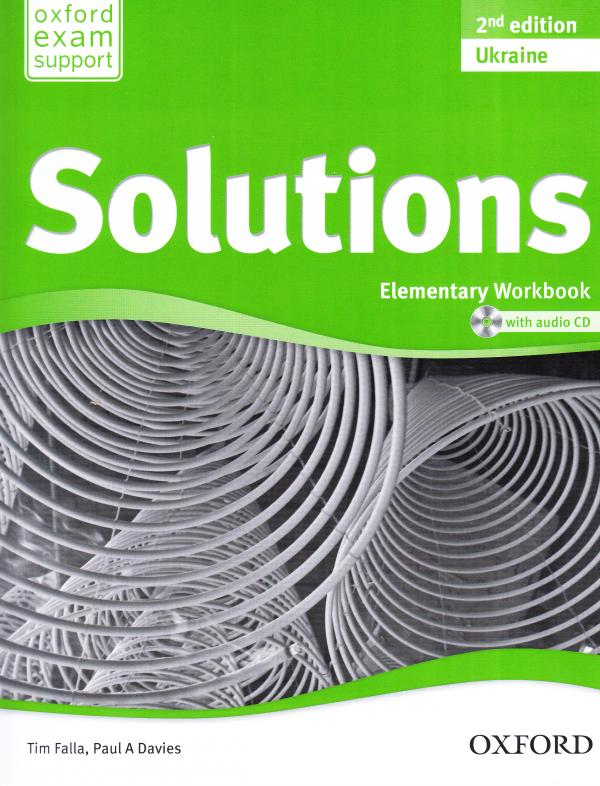 Solutions 2nd Edition Elementary: Workbook and Audio CD Pack 2nd Edition Ukraine