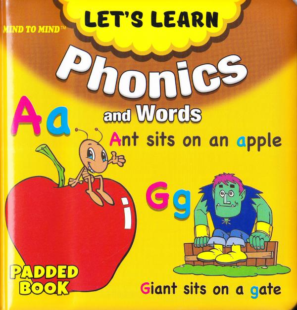Medium Padded Books Phonics and Words