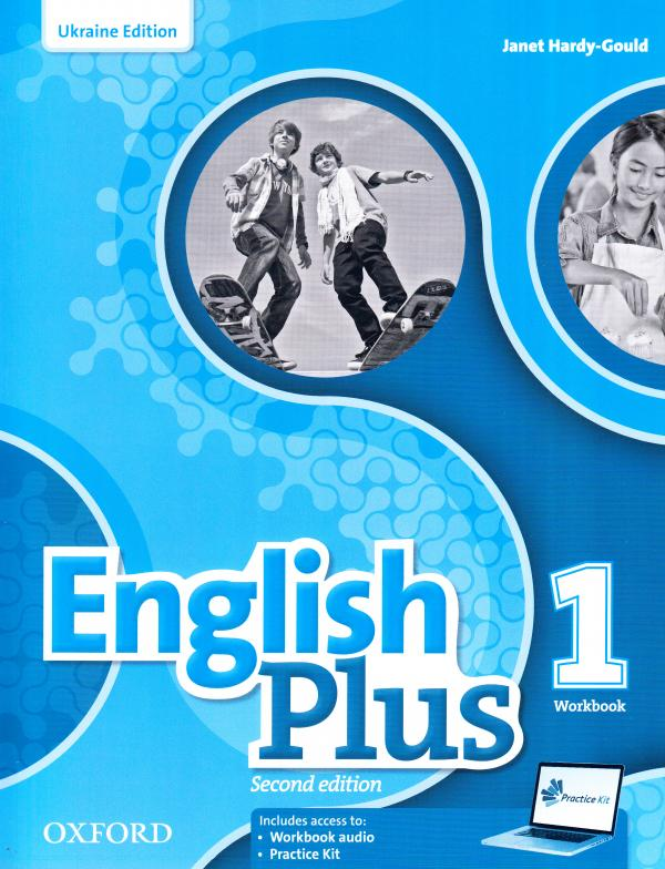 English Plus 1 Workbook for Ukraine 2nd edition