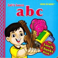 My Lovely Chunky Books ABC 9789673312702