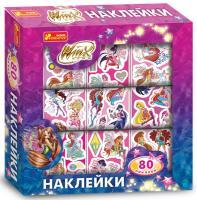 Страффі Іджініо Наклейки в коробке. Винкс. Disney