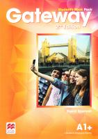 Gateway 2Ed A1+ Student's Book Pack 9780230473058