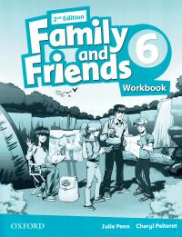 Family and Friends 2nd Edition 6 Workbook 9780194808125