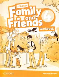 Family and Friends 2nd Edition 4 Workbook 9780194808088