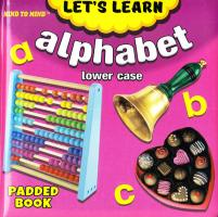 Medium Padded Books Alpahabet Lower Case